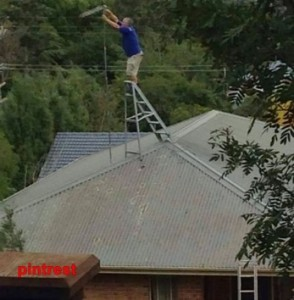 Strong Life Roofing and Guttering – Ladder use for Dummies