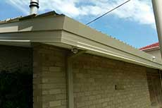 Fascia cover and top capping East Keilor