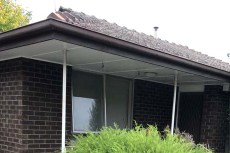 Guttering and Fascia Replacement with Colorbond Guttering in Greensborough