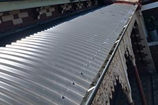 Guttering Replacement with Colorbond and Roof Replacement Port Melbourne