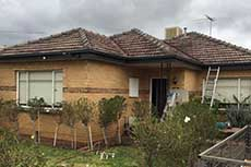 Pascoe Vale replacement gutters