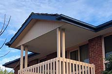 Concealed Gutters and Fascia Cover with Colorbond in Bundoora